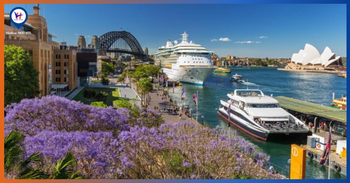 Du lịch Úc Mùa nào đẹp nhất - Mùa xuân dịu mát, trăm hoa đua nở