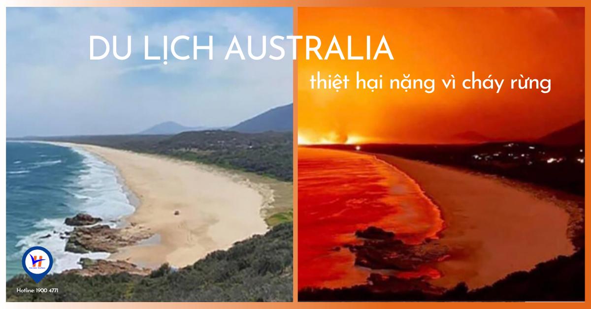 HVC News: Du lịch Australia thiệt hại nặng vì cháy rừng