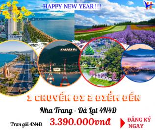 Nha Trang – Đà Lạt 4N4Đ