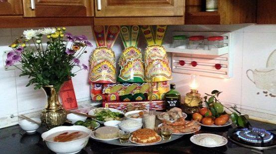 Bài cúng ông Công ông Táo 23 tháng Chạp theo Văn khấn cổ truyền Việt Nam
